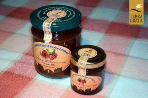 Confettura / Marmellata artigianale di Fichi e Lamponi Terra Grata da poter usare anche come mostarda. Gusti originali