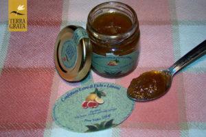 Confettura / Marmellata artigianale e naturale di Fichi e Limoni Terra Grata. Confetture e marmellate originali e confetture e marmellate particolari.