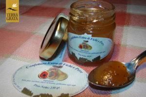 Confettura / marmellata artigianale e naturale di Fichi e pere.Confetture e marmellate originali e confetture e marmellate particolari: la nostra ricetta marmellata.
