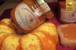 Confettura / Marmellata artigianale di Zucca e Vaniglia Terra Grata. Perfetta per farce torte e pasticceria. Gusti originali.