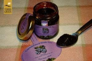 Confettura di mirtilli Terra Grata. Mirtillo Modena. Marmellata di Mirtilli. Marmellata artigianale. Ricetta Marmellata