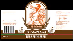 Birra artigianale Terra Grata, Birra filiera agricola, birra agricola, Birra la contadina, La Bionda, birra chiara, COBI , Consorzio Italiano dell'Orzo e della Birra, codice barre 8388766302371